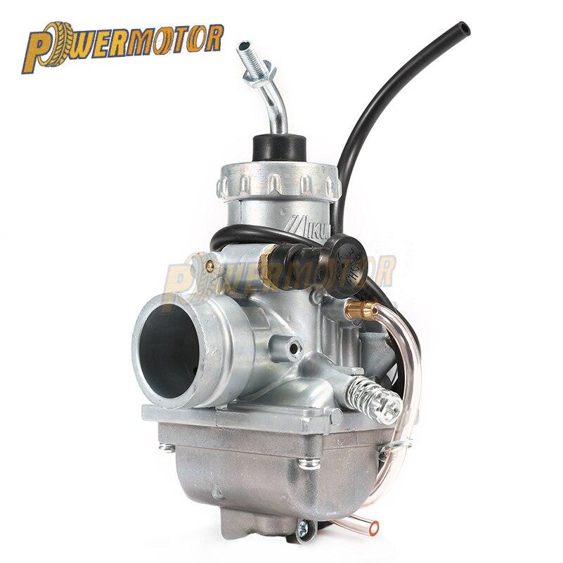 PowerMotor Mikuni Carburetor VM24 Motorcycle for Yamaha DT125 DT175 RX125 for Suzuki TZR125 RM65 RM80 RM85 Dirt Bike Off Road